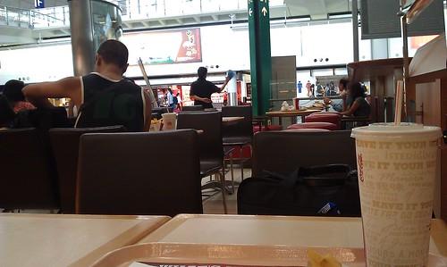 Burgerking @ HongKong airport