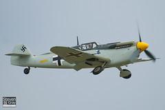 G-BWUE - 223 - The Real Aeroplane Company - Hispano HA.1112-M1L Buchon - 110710 - Duxford - Steven Gray - IMG_9224