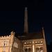 E-Werk Cottbus bei Nacht