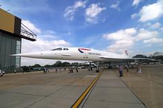 G-BOAB Concorde-1 (johnaalex) Tags: england london concorde ba britishairways lhr d300 tokina1116mmf28