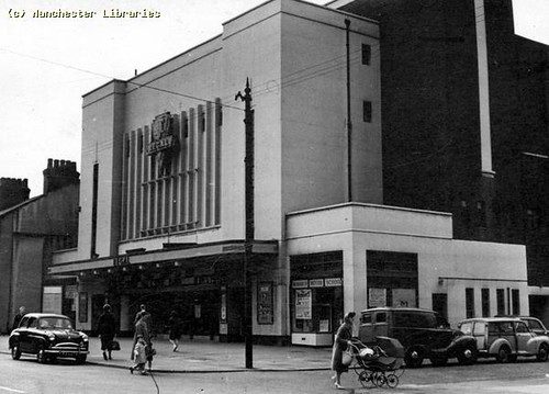 Bowling Alley, formerly Regal Cinema, 60 Stockport Road, Levenshulme, 1964