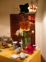 Origami création - Didier Boursin - Soirée ArjoWiggins (KeayKolour)