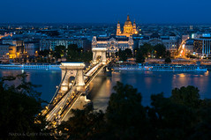 Chain Bridge + Cathedral - Budapest, Hungary (www.caseyhphoto.com) Tags: world travel bridge blue vacation urban holiday color building skyline architecture speed river photography design casey photo nikon nadia europe long exposure hungary slow arte cathedral image action budapest transport culture photographers eu structure architectural adventure chain collection architect viajes artists shutter getty civilization traveling fotografia visual explorers mundo danube cultura travelers global gettyimages aventura d300 adventurers expresión 2470f28 structura urbansuburban gettyimagescom gettycollection cosp doublyniceshot doubleniceshot mygearandme mygearandmepremium artistoftheyearlevel3 flickrstruereflection1 flickrstruereflection2 flickrstruereflection3 flickrstruereflection4 flickrstruereflection5 cettycollection