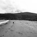 Waterfoot Beach (black and white)