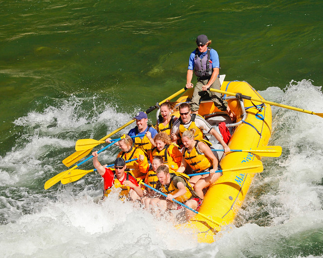 Whitewater Rafting on the Snake
