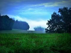 BackFromNightshift-Exhaling (BphotoR) Tags: morning blue sky mist green fog forest germany dawn nebel hessen nightshift september wald odenwald morgendmmerung naturesfinest nachtschicht supershot idream abigfave anawesomeshot mygearandme bphotor