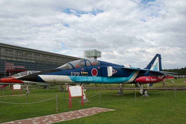 JASDF T-2 Blue Impulse
