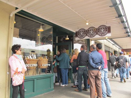 Original Starbucks, Pike Place, Seattle