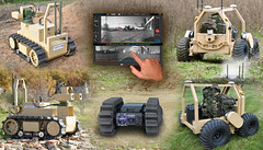 Marshall Land Systems UGV montage