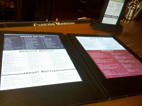 ATR LED beverage menu