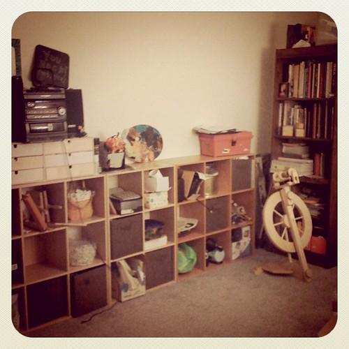 Studio getting unpacked