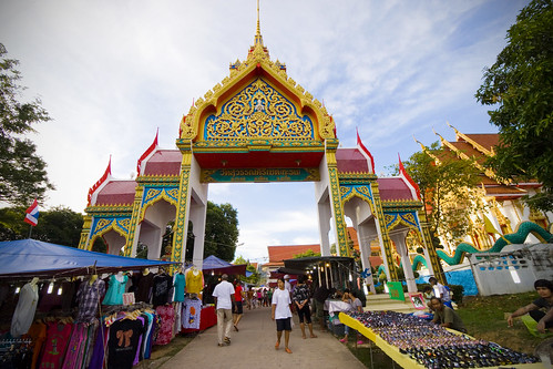 Karon Temple market