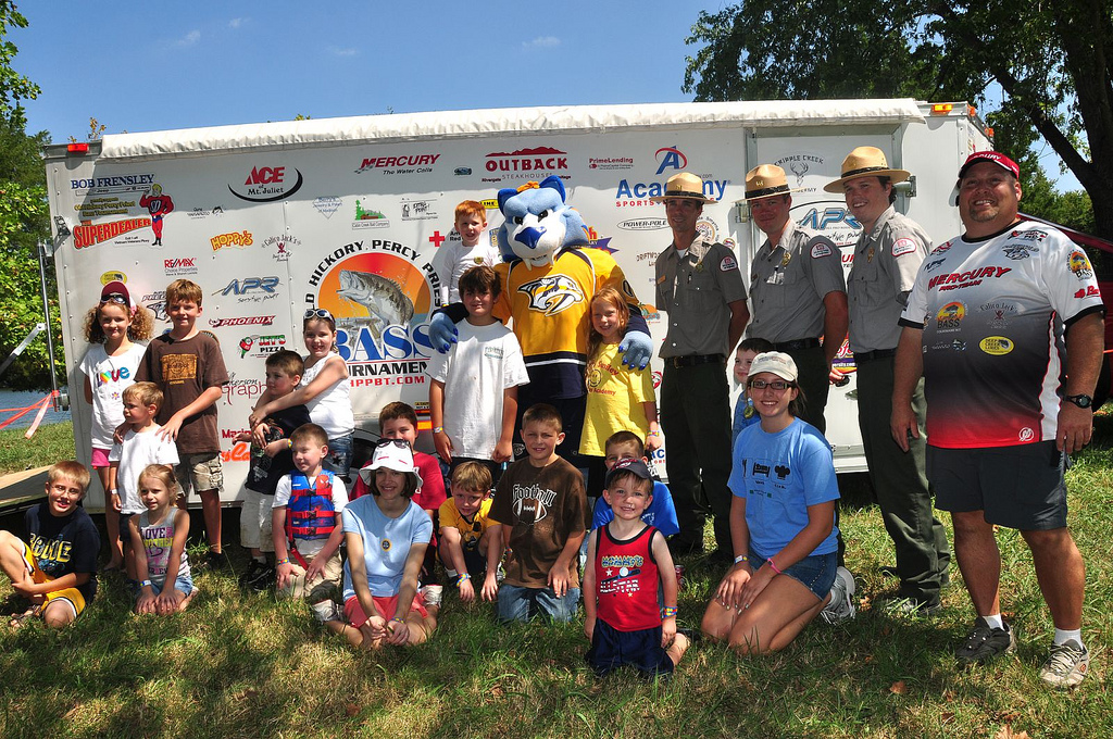 Gnash joins Old Hickory staff for first annual Family, Fun & Fish Day