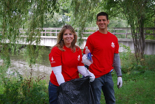 Molson Canadian Red Leaf Project/Great Canadian Shoreline Cleanup - TORONTO