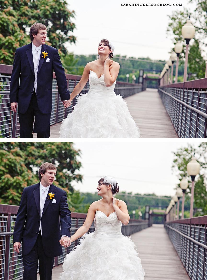 River Market Kansas City wedding photographers