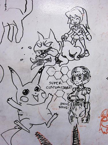 Pikachu, PSO2, etc.