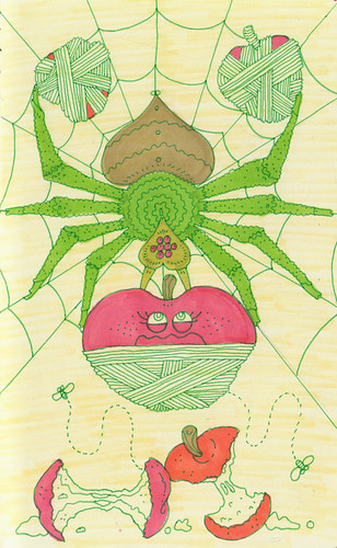 rare vegan spider by jeremy pettis