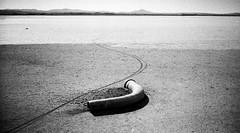 limnos_3 (constant progression) Tags: bw white black film island desert natural aegean dry greece contax land hp5 ilford t2 limnos lemnos saltern