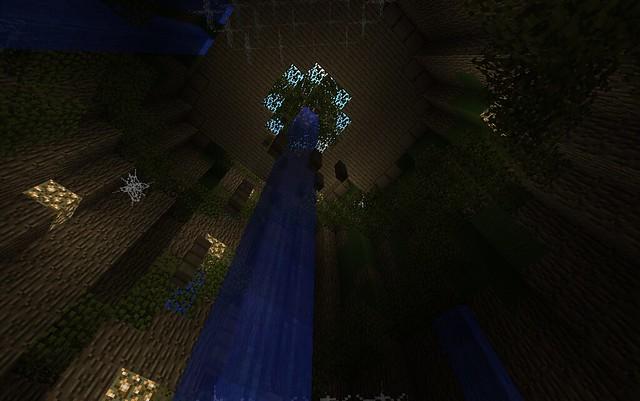 L'intérieur du tronc