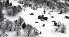 Winter (elosoenpersona) Tags: trees houses winter mountain snow stone de arboles buried nieve asturias invierno montaa casas piedra asturies elosoenpersona enterradas
