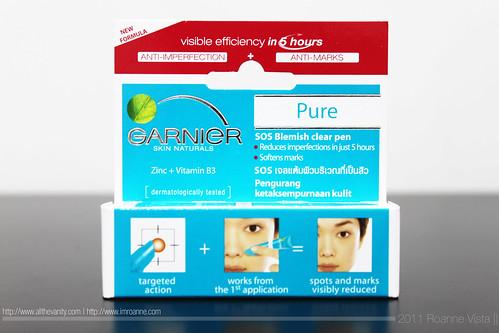 box - Garnier Pure SOS Blemish Clear Pen