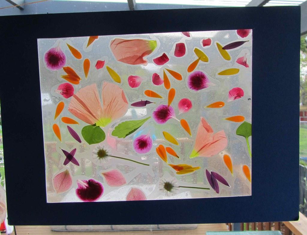 Spring flower window