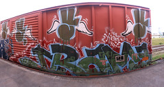 drama (No Real Name Given.) Tags: art train graffiti rip boxcar drama freight ynot benching ynotse