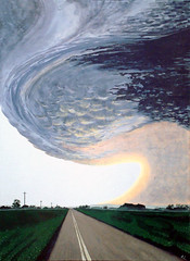 Alberta Storm Cloud, Acrylic on Canvas 2009