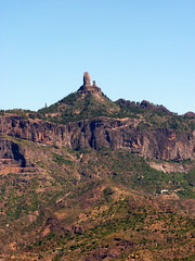 Gran Canaria - Roque Nublo (As Seen from Artenara)