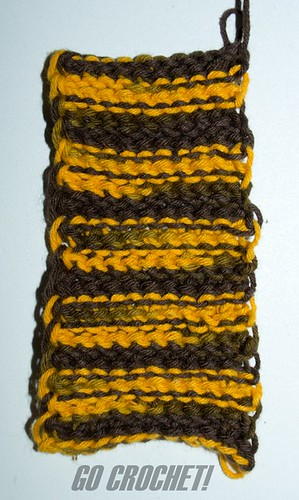 Tunisian Crochet Stitch [Back]