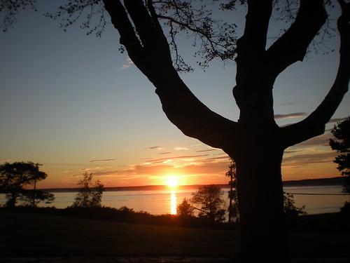 Sunset in Scarborough, Maine