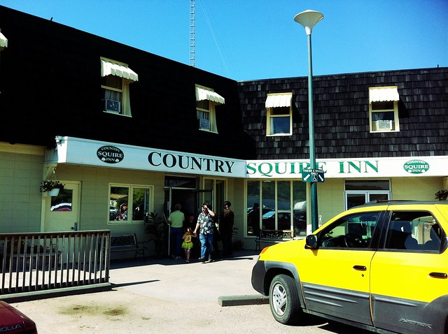Country Squire Inn in Fort Qu'Appelle, Saskatchewan 1