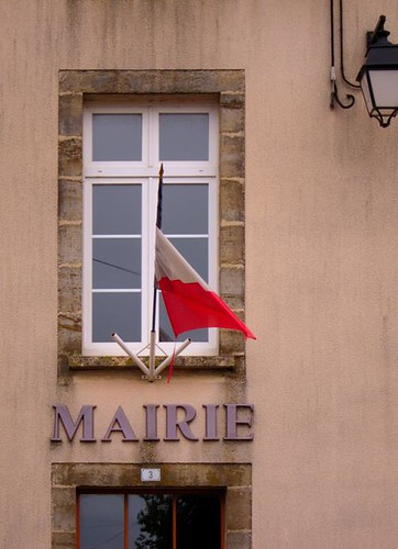 french old mairie town hall by Danalynn C