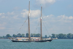 Tall ship Highlander Sea (off Grosse Ile, Michigan)