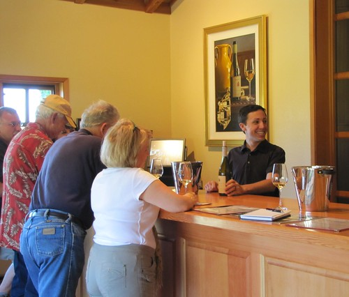 Talbott Wine Tasting Room