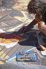 Il Madonnaro (Promix The One) Tags: colori marche disegno canoneos1dsmarkii madonnaro gessetti loretoan canonef28105f3545