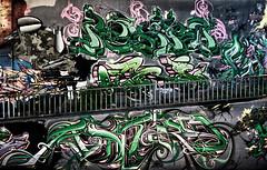 Aufgang zum Brückenkopf Mainz-Kastel (Ubiodo) Tags: street colour art wall trash canon mos germany deutschland eos graffiti wiesbaden wand kunst tag 8 sigma meeting spray treppe styles 16 mainz mülleimer bunt legal malen farben 2011 kastel sprühdose 550d t2i brückenkopft