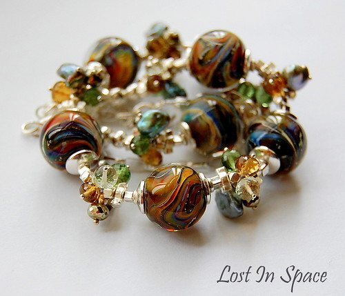 Lost In Space Necklace by gemwaithnia
