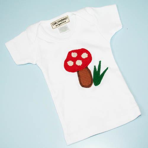 organic baby laptee mushroom