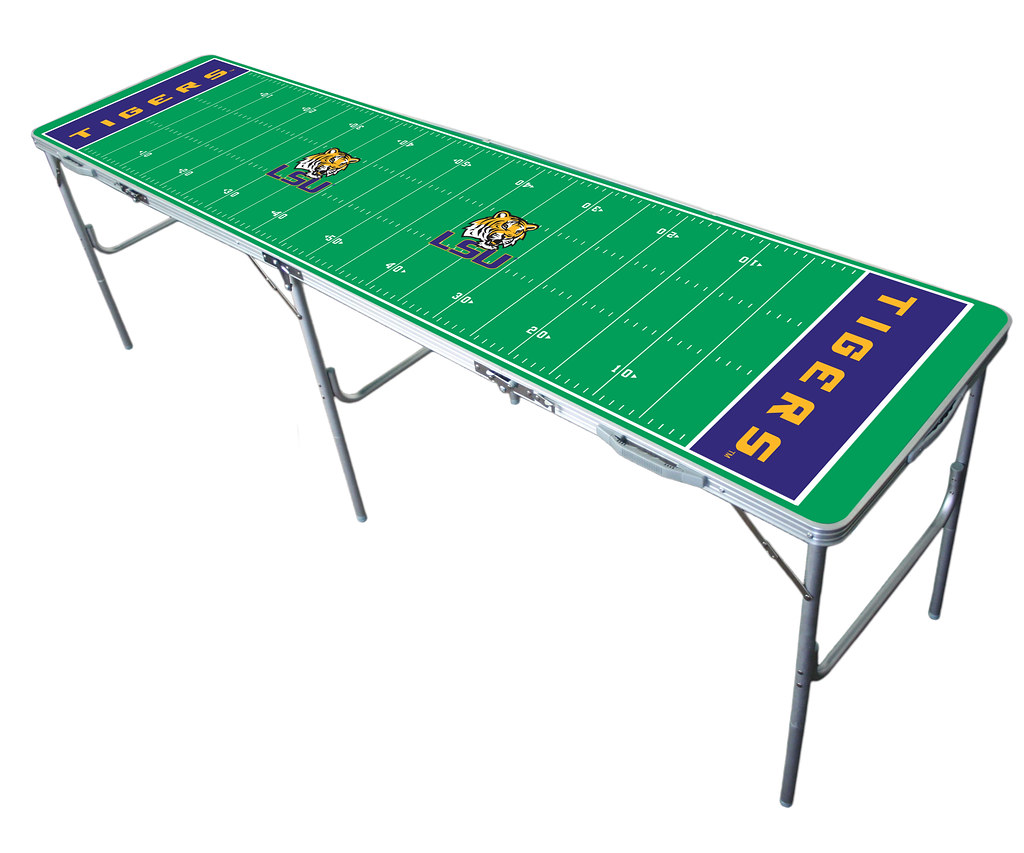LSU Tailgating, Camping & Pong Table