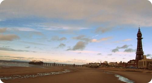 Blackpool & seashore
