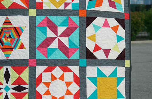 Summer Sample Quilt by Faith at Fresh Lemons