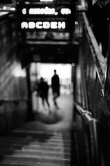 (patrickjoust) Tags: street leica city urban bw white black blur blancoynegro film home field stairs analog america 35mm subway ed nikon focus mechanical metro kodak bokeh scanner buenos aires f14 south cosina voigtlander trix stock entrance patrick rangefinder v 400 subte 40 ba shallow manual 40mm m3 joust 3200 palermo range finder developed depth premium nokton cv wetzlar develop xtol blancetnoir leitz arista rebranded schwarzundweiss autaut voigtlandernokton40mmf14mc rebadged patrickjoust