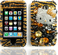 hello kitty black & gold