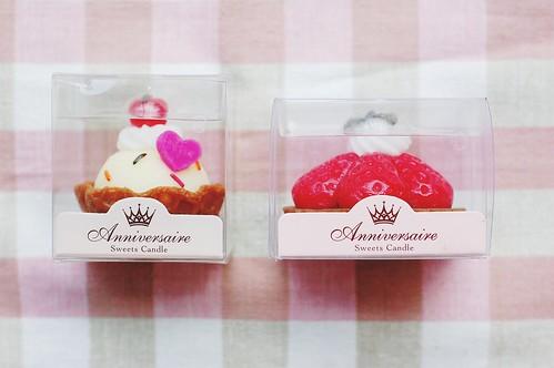 cupcake candles.