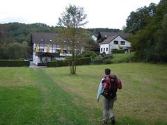 Ankunft an der Limbacher Mühle