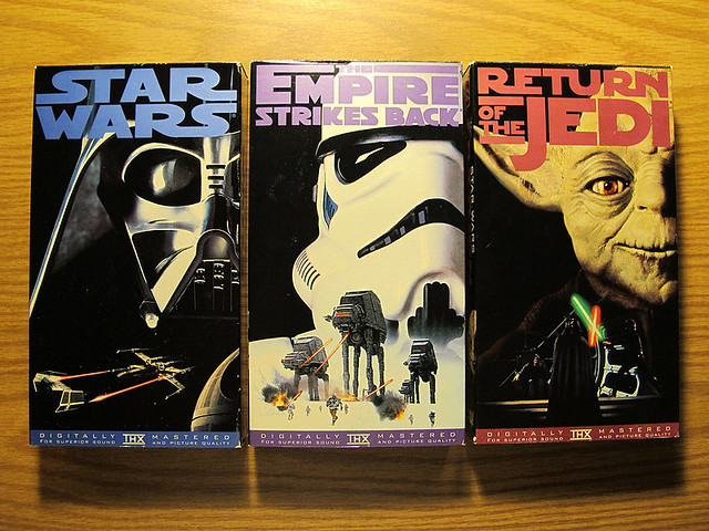 Star Wars Trilogy On VHS Digitally Remastered