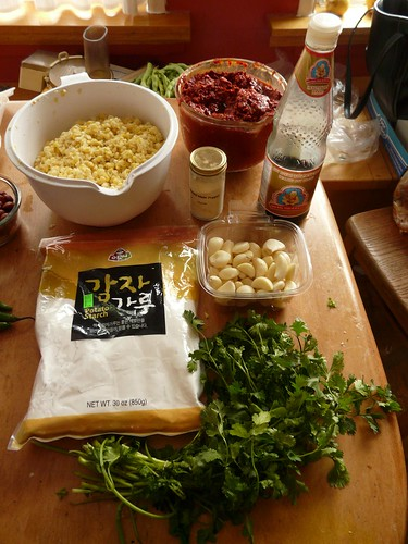Thai Sweet Corn Fritters - Ingredients