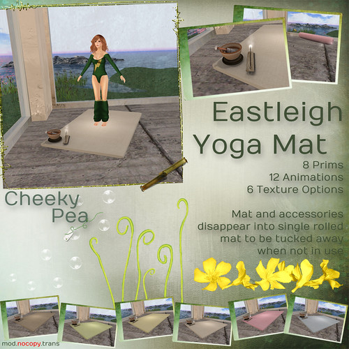 :CP: Eastleigh Yoga Mat by Isla Gealach