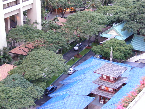 Picture from the Hilton Hawaiian Village